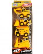 6 Sets de Vehículos de Construcción