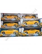 Transformer Auto Amarillo x 6 Unids.