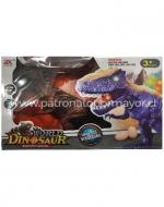 Dinosaurio con Luz y Sonido x 4 Unids.