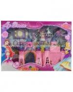 4 Sets Castillo de Princesas
