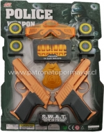 6 Sets Policial S.W.A.T