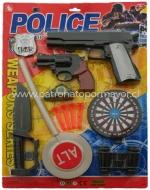 6 Sets Policial Varios Artículos