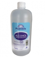 Alcohol Desnaturalizado 70% con Registro ISP 1000 ml x 12 unid