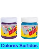 Temperas Frasco Artel 100 cc x 6 Unids