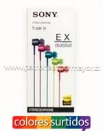 Audífonos Manos Libres Sony x 6 Unids.