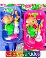 x6 Set Bañera de Bebé con Accesorios