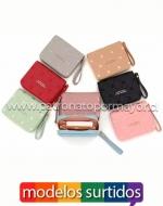 Billetera de Dama x 12 Unds. Medidas: 9 x 11 x 2.5 cm