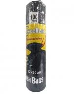 12 Pack Bolsa de Basura 72 x 90 cm - 100 Litros