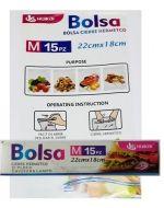 Bolsa Cierre Hermetico x 6 Cajas