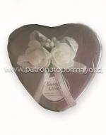 Cajas de Regalo Corazón x 12 Unds.Medida: 8cmx6cmx4cm