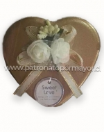 Cajas de Regalo Corazón x 12 Unds.Medida :  8cmx6cmx4cm