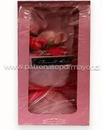 Ramo de Rosa Artifcial x4 Unds. Medida: 15cm Aprox.
