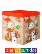 Cajas Navideñas para Regalos x 12 Unidad  Medidas:30 x 30 cm Aprox