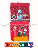Cajas de Regalo Navideñas x 12 unds. Medidas: 22 x 22 cm