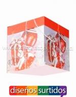 Cajas Navideñas para Regalos x 12  Unidad Medidas:22 x 22 cm Aprox