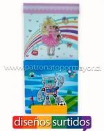 Cajas de Regalo para Niños x 12 unds. Medidas: 22 x 22 cm