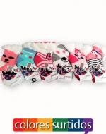 Calcetines para bebés x 36 Pares Talla: 6 - 12 Meses
