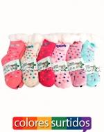 Calcetines para niñas x 36 Pares Talla: 24  -31