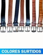 Cinturón de Hombre x 12 Unidades Largo: 120 cm