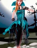 Disfraz Erótico Halloween x 1 Unidad Talla: M - L - XL