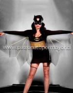 Disfraz Erótico Batwoman x 1 Unidad Talla: M - L - XL