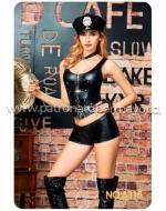 Disfraz Policía Erotic x 1 Unds. Talla:  M - L - XL
