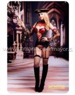 Disfraz Pirata Erotic x 1 Unds. Talla:  M - L - XL