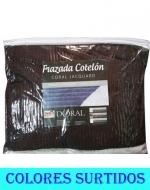 Frazada Cotelon Chiporro 1 Plazay Media + 1 Fundas x 3 Unds.