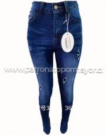Jeans Dama  x 12 Unds. Tallas : 36 al 46