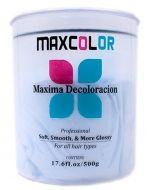 DECOLORANTE MAX COLOR 500GR x 6 Unids.