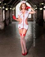 Disfraz Erótico de Enfermera x 1 Unidad Talla: M - L - XL