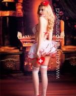 Disfraz Carnaval de Enfermera x 1 Unidad Talla: M - L - XL