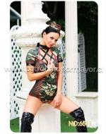 Disfraz Militar Erotic x 1 Unds. Talla:  Standar (M-L)