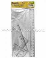 x4 Set Estuche de Geometría Cantidad: 4 PCS