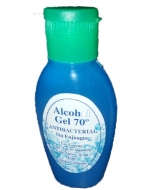 Alcohol Gel  70% Antibacterial con  Registro ISP 50  ml x 100 unid