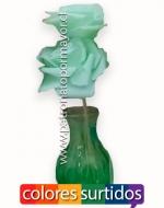 Flor Artifical con Florero x6 Unds Medida: 7cm Aprox.