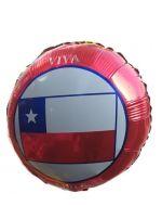Globo Metalico Chile x 12 Unds.