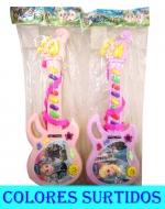 Guitarra musical x 6 Unds. Medida: 32 x 12 cm Aprox.