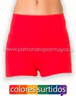 Hot Pants Dama x 12 Unds. Talla: Estandar