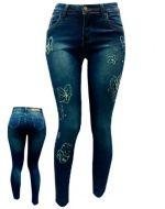 Jeans Dama  x 6 Unds. Tallas : 36 - 54