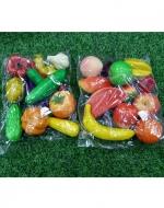 Juguete Surtidos Verdura y Frutas x 6 Unids