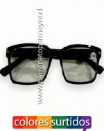 Lentes Ópticos con Filtro UV400 y Antirreflejo x24 unids.
