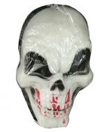 Mascara de Plastico Halloween x6 Und. Medida: 20x15 cm Aprox.