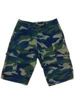 Short Elasticado Militar de Niño x 4 Unds Tallas:6 al 16