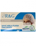Mascarillas Plana Descartable x 1 Caja