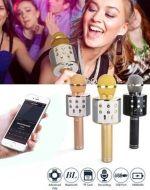 Micrófono Karaoke Inalambrico x 3 Unds.