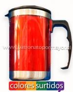 Mug con Tapa x6 Unds. Medida: 250ml