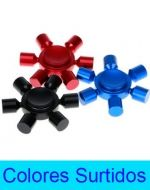 Spinner Anti Estres 6 Puntas Bronce x 3 Unds.