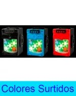 Parlante Bluetooth con Luz, Radio 10W, SD, USB, AUX  x 3 Unds.
