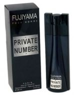 Perfume de Hombre Fujiyama Private Number Pour Homme x 1 Und. Medida : 100ml.